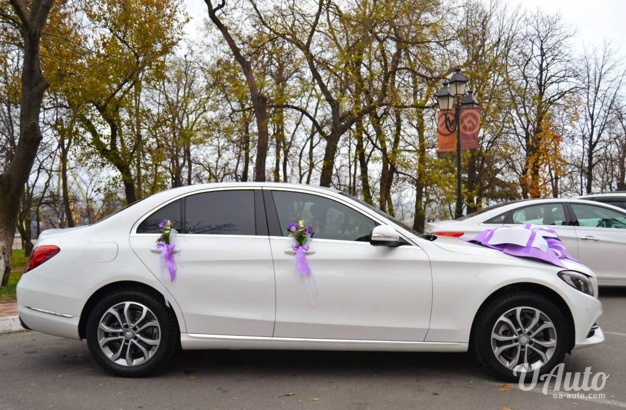 аренда авто Mercedes C-Class W205 в Киеве
