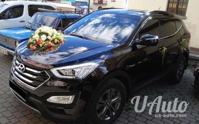 аренда авто Hyundai Santa Fe NEW в Киеве
