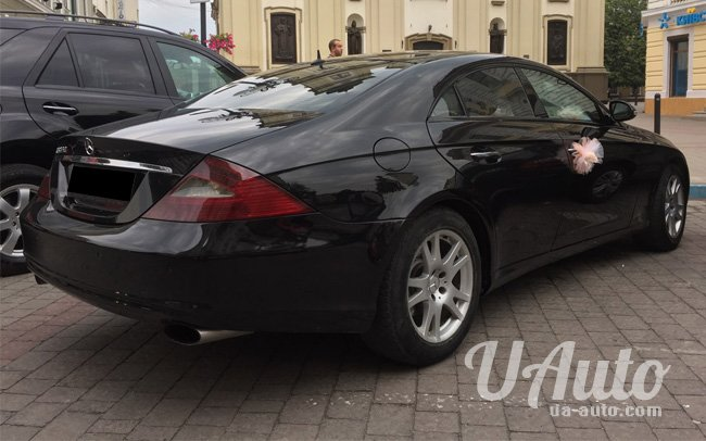 аренда авто Mercedes CLS в Киеве