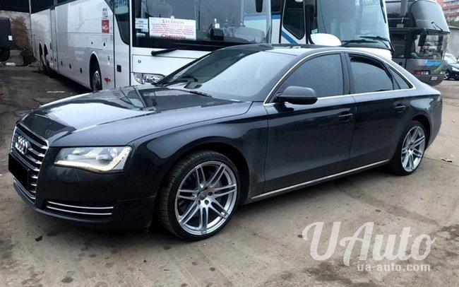 аренда авто Audi A8 в Киеве