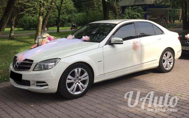 аренда авто Mercedes C-Class W204 в Киеве