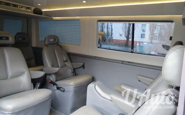 аренда авто Volkswagen Crafter в Киеве