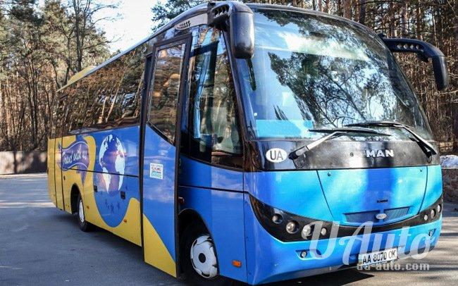 аренда авто Автобус MAN Dexton в Киеве