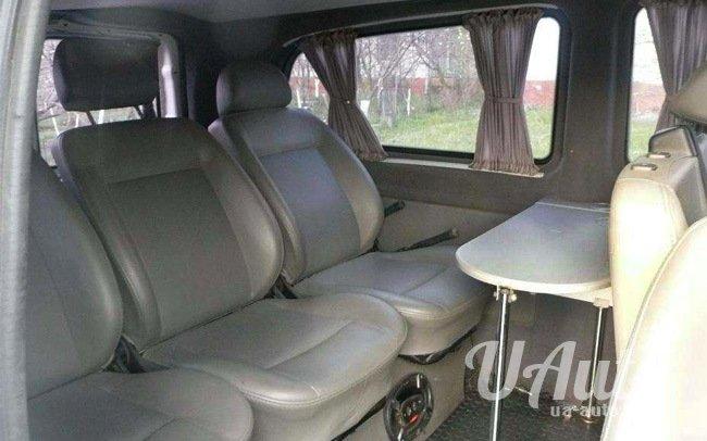 аренда авто Микроавтобус Mercedes Vito Extra Long в Киеве