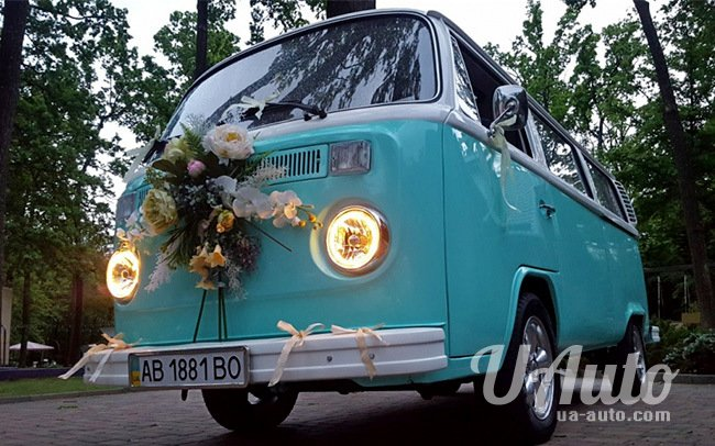 аренда авто Микроавтобус Volkswagen T2 в Киеве