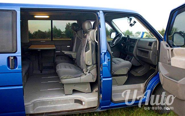аренда авто Микроавтобус Volkswagen Transporter в Киеве