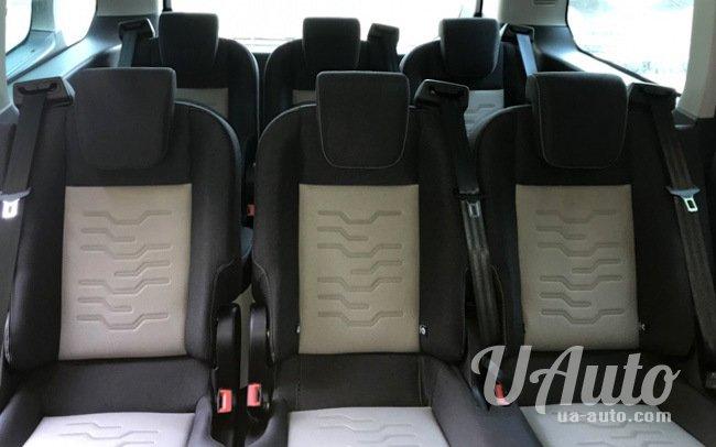 аренда авто Микроавтобус Ford Custom в Киеве