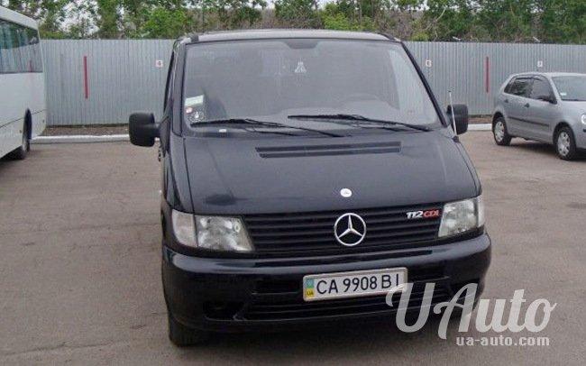 аренда авто Микроавтобус Mercedes Vito 112 в Киеве