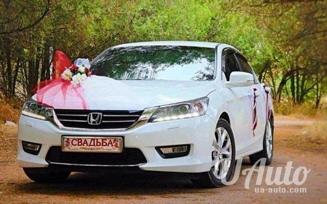 аренда авто Honda Accord New в Киеве