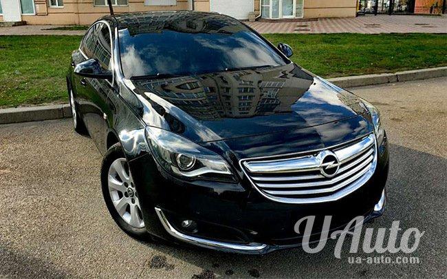 аренда авто Opel Insignia в Киеве