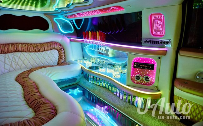 аренда авто Лимузин Rolls-Royce Phantom в Киеве