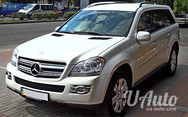 аренда авто Mercedes GL в Киеве