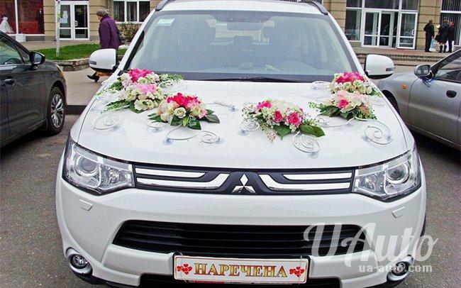 аренда авто Mitsubishi Outlander в Киеве