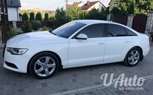 аренда авто Audi A6 в Киеве