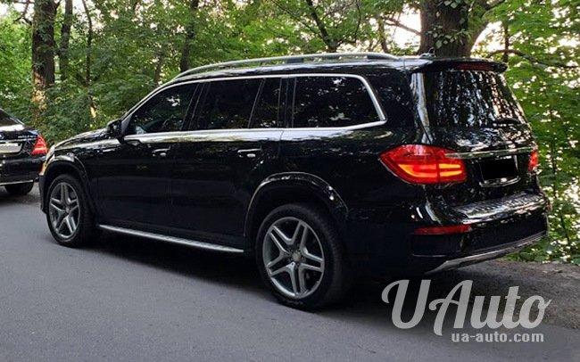 аренда авто Mercedes GL 550 в Киеве