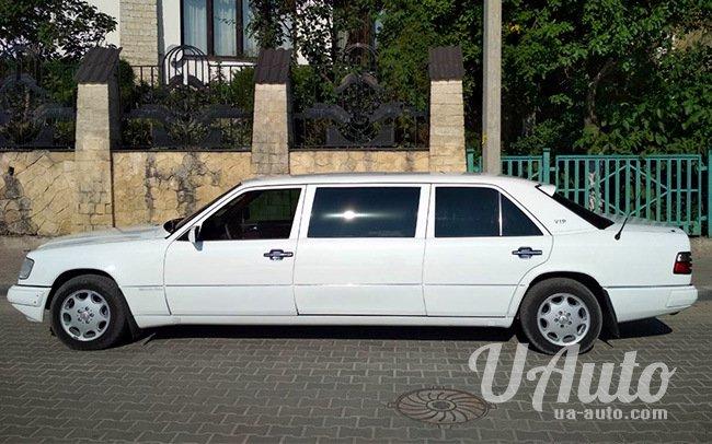 аренда авто Лимузин Mercedes в Киеве
