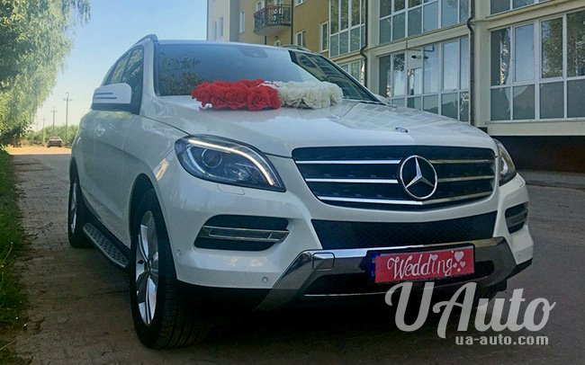 аренда авто Mercedes ML New на свадьбу