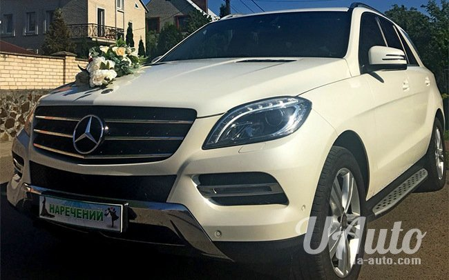 аренда авто Mercedes ML New в Киеве