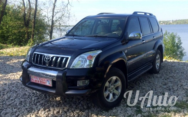 аренда авто Toyota Land Cruiser Prado 120 в Киеве
