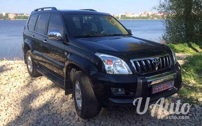 аренда авто Toyota Land Cruiser Prado 120 на свадьбу