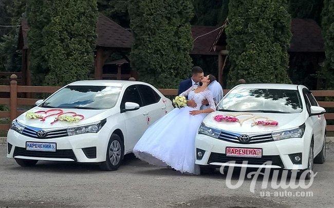 аренда авто Toyota Corolla New в Киеве