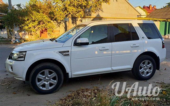 аренда авто Land Rover Freelander 2 в Киеве