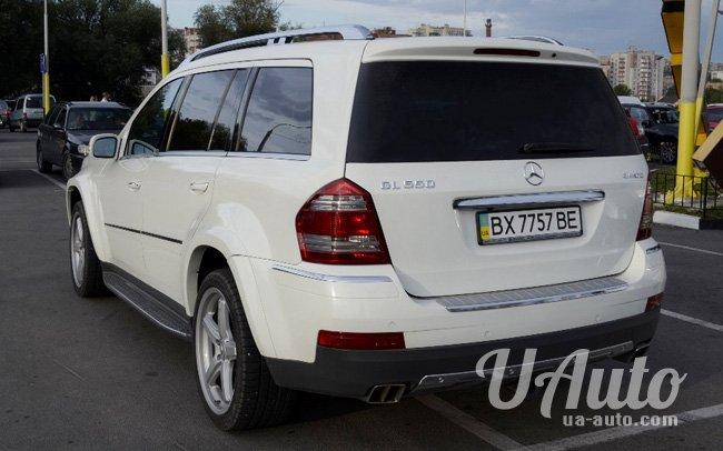 аренда авто Mercedes GL 550 AMG в Киеве