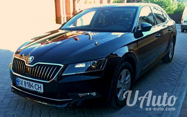 аренда авто Skoda Superb New в Киеве