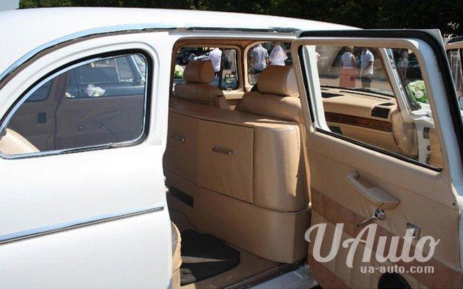 аренда авто Ретро ГАЗ-13 Чайка в Киеве