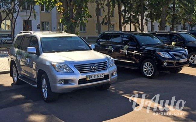 аренда авто Lexus LX570 в Киеве