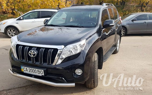 аренда авто Toyota Land Cruiser Prado на свадьбу