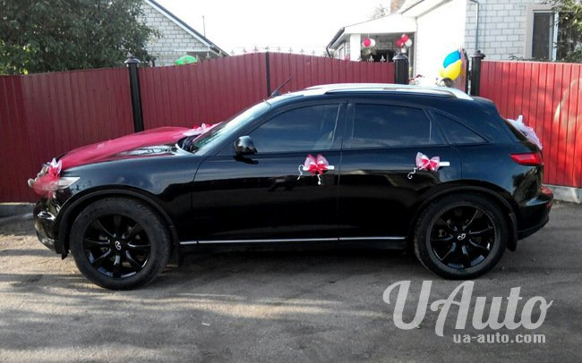 аренда авто Infiniti FX 45 в Киеве