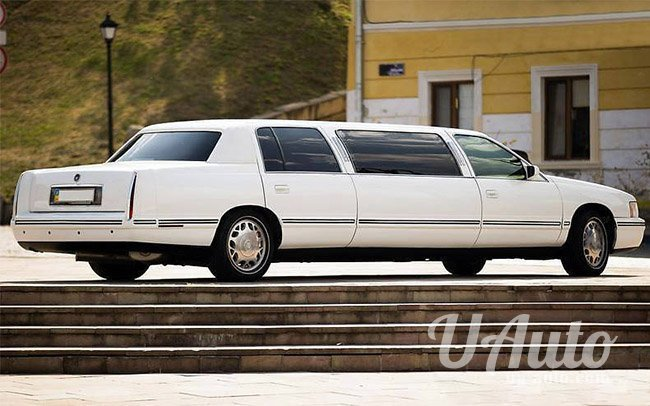 аренда авто Лимузин Cadillac DeVille в Киеве