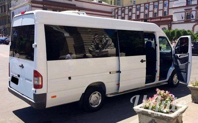 аренда авто Микроавтобус Mercedes Sprinter 312 в Киеве