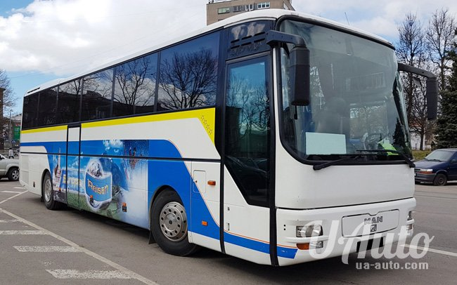 аренда авто Автобус МАN А-03 на свадьбу
