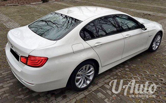 аренда авто BMW 5 2016 год в Киеве