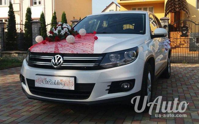 аренда авто Volkswagen Tiguan на свадьбу