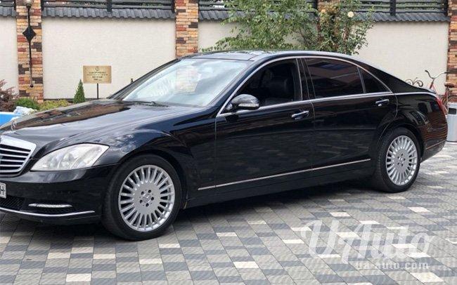 аренда авто Mercedes S-Class W221 на свадьбу