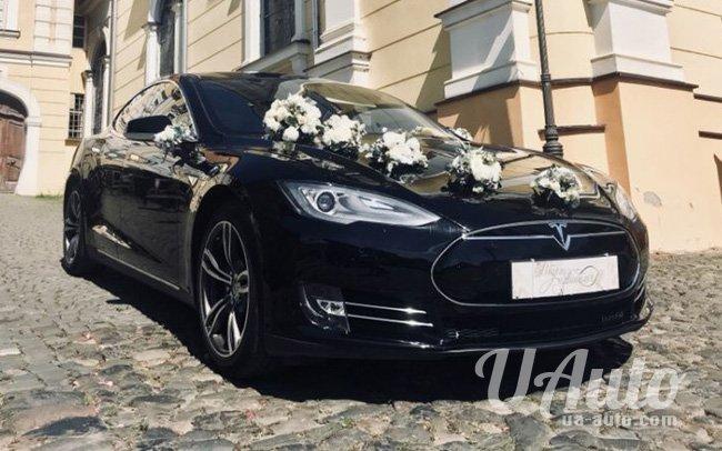 аренда авто Tesla Model S на свадьбу