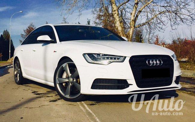 аренда авто Audi A6 на свадьбу