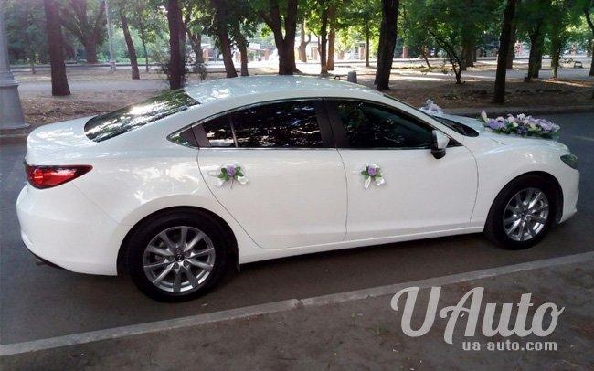 аренда авто Mazda 6 New в Киеве