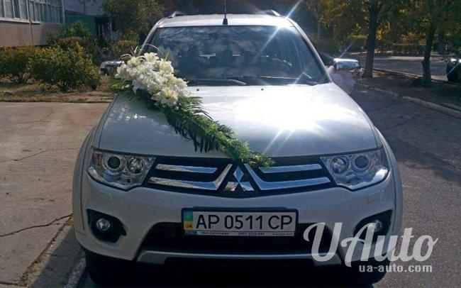 аренда авто Mitsubishi Pajero Sport в Киеве