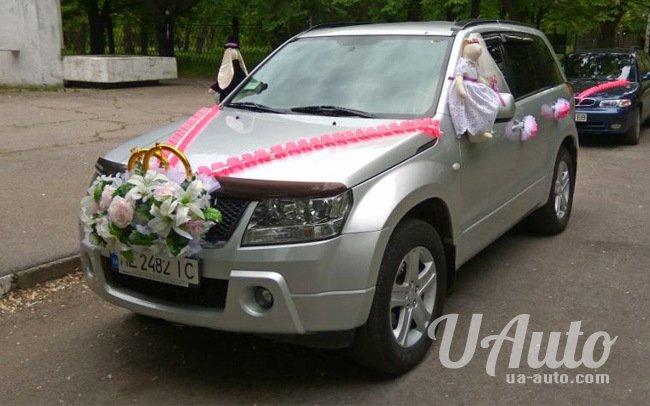 аренда авто Suzuki Grand Vitara на свадьбу