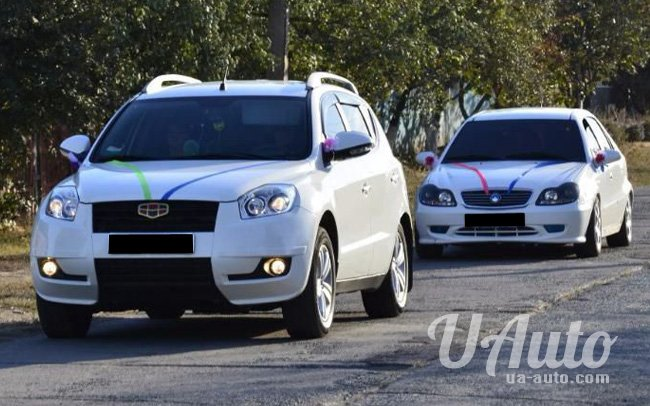 аренда авто Geely Emgrand X7 в Киеве