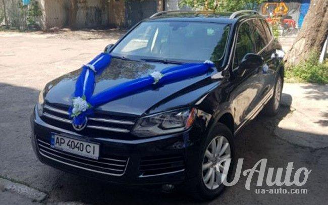 аренда авто Volkswagen Touareg в Киеве