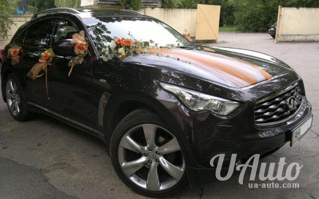 аренда авто Infiniti FX 37s в Киеве