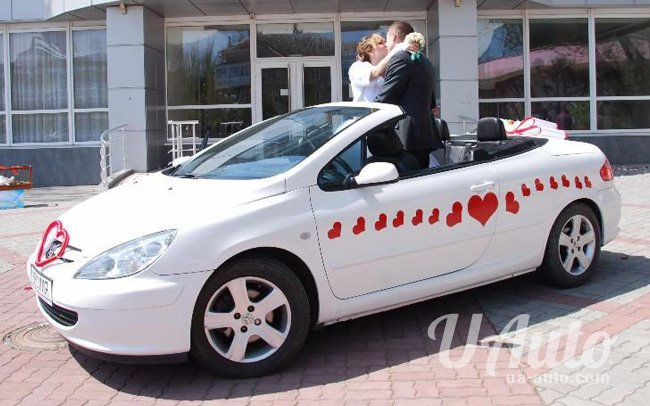 аренда авто Кабриолет Peugeot 307 в Киеве