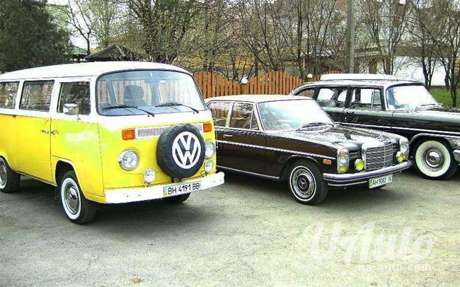 аренда авто Ретро Микроавтобус Volkswagen Transporter T2 в Киеве