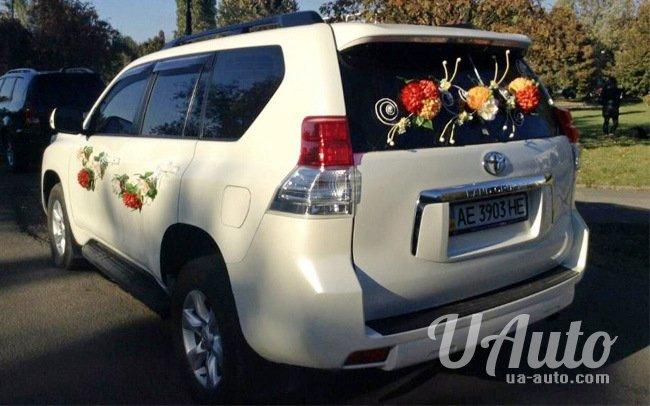 аренда авто Toyota Prado в Киеве