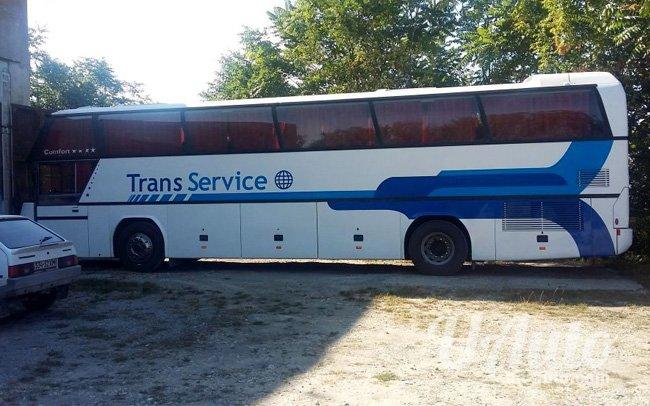 аренда авто Автобус Neoplan 116Н в Киеве